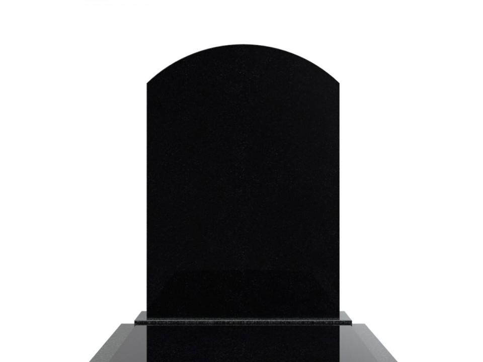 Nagrobek pojedynczy z ramą z grubych elementów. Pomnik Nr 35