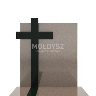 Nagrobek pojedynczy, granitowy 100x190 cm. Bohus+Szwed